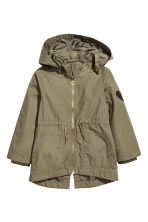 連帽軍外套 - Khaki green - Kids | H&M 2