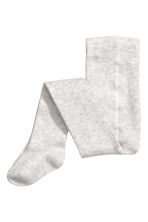 2-pack tights - Light grey marl - Kids | H&M 3