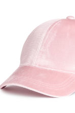Velvet cap - Light pink - Ladies | H&M CN 3