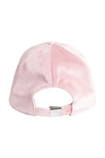 Velvet cap - Light pink - Ladies | H&M CN 2