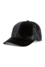 Velvet cap - Black - Ladies | H&M 1
