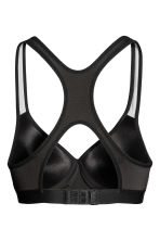 Sports bra Medium support - Black - Ladies | H&M 3