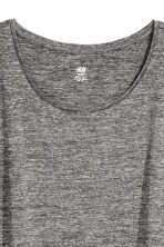 Sports top - Black marl - Ladies | H&M IE 3