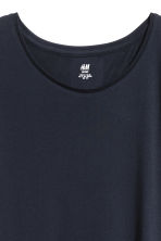 Sports top - Dark blue marl - Ladies | H&M CN 3