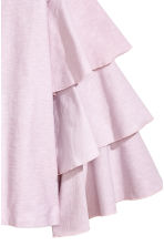 Top with tiered sleeves - Light pink -  | H&M CA 3