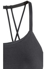 Sports bra Low support - Black - Ladies | H&M 4