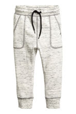 Joggers - Natural white marl -  | H&M 2