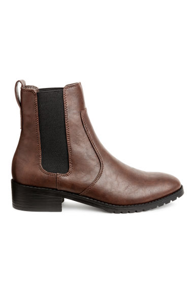 Chelsea boots - Dark brown - Ladies | H&M 1