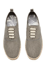Lace-up espadrilles - Grey - Men | H&M 2