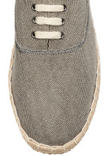 Lace-up espadrilles - Grey - Men | H&M 3