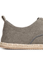 Lace-up espadrilles - Grey - Men | H&M 4