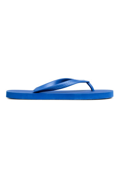Teenslippers - Korenblauw - HEREN | H&M BE