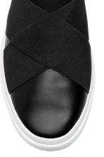 Slip-on sneakers - Zwart - DAMES | H&M BE 3
