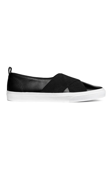 Slip-on sneakers - Zwart - DAMES | H&M BE 1
