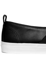 Slip-on sneakers - Zwart - DAMES | H&M BE 4
