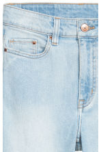 Skinny High Ripped Jeans - Licht denimblauw - DAMES | H&M BE 5