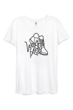 Loopshirt - Wit - DAMES | H&M BE 2