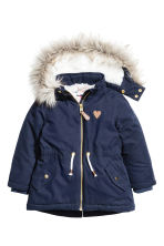 Padded parka - Dark blue - Kids | H&M 2