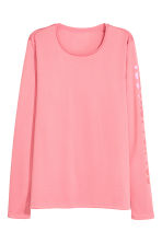 Long-sleeved running top - Pink - Ladies | H&M 2