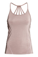 Yoga top - Powder pink - Ladies | H&M CA 2