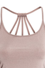 Yoga top - Powder pink - Ladies | H&M CA 4