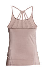 Yoga top - Powder pink - Ladies | H&M CA 3