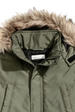 Padded parka - Khaki green - Kids | H&M 3
