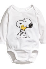 3-piece jersey set - White/Snoopy - Kids | H&M CA 3