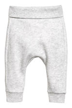 Bodysuit and trousers - Light grey marl - Kids | H&M 2