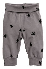 3-piece jersey set - Dusky purple/Stars - Kids | H&M 2