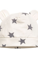 3-piece jersey set - Natural white/Stars - Kids | H&M 4