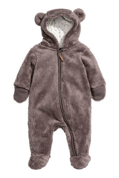 Pile all-in-one suit - Mole - Kids | H&M 1