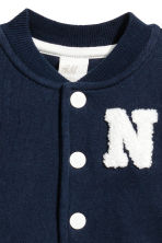 Baseball jacket - Dark blue -  | H&M 2