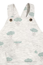 Patterned dungarees - Grey - Kids | H&M 2