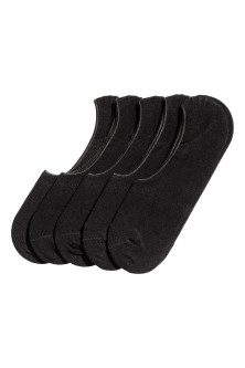 5-pack shaftless socks