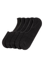 5-pack shaftless socks - Black - Men | H&M CN 1