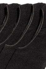 5-pack shaftless socks - Black - Men | H&M CN 2