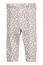 2-pack leggings - Grey/Leopard print - Kids | H&M 2