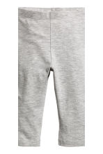 2-pack leggings - Grey/Leopard print - Kids | H&M CN 3