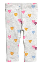2-pack leggings - Rosa/Hjärtan - Kids | H&M FI 2