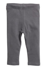 2-pack leggings - Dark gray/dotted - Kids | H&M CA 2
