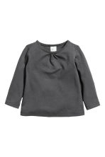 2-pack tops - Grey/Beige -  | H&M 2