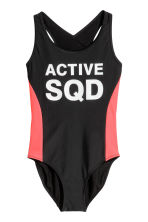 Sports swimsuit - Black -  | H&M CA 1