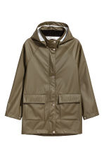 雨衣外套 - Khaki green - Kids | H&M 1