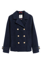 Reefer jacket - Dark blue - Kids | H&M CN 2