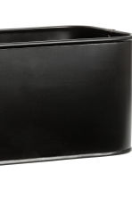 Metal Storage Box - Black - Home All | H&M CA 2