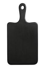 Wooden chopping board - Black - Home All | H&M IE 1