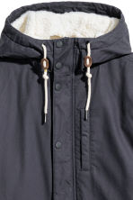 Cotton parka - Dark blue - Men | H&M GB 3