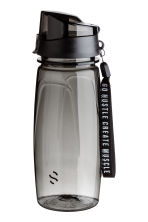 Water bottle with lid - Black - Men | H&M CA 1