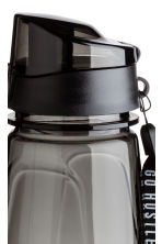 Water bottle with lid - Black - Men | H&M 2